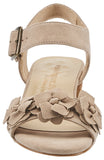 Michelle: Light Taupe Suede
