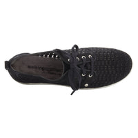 Oasis: Black Nubuck Leather LIMITED STOCK