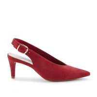 Shelby: Red Suede