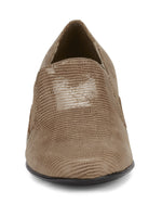 Teri: Light Taupe Lizard Print