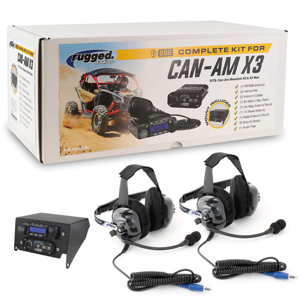 Complete Headset UTV Kit for Can-Am X3 & X3 Max - Top Mount