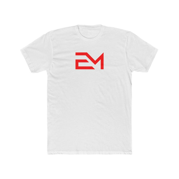 Men's Cotton Crew Tee (Sleek-Logo)