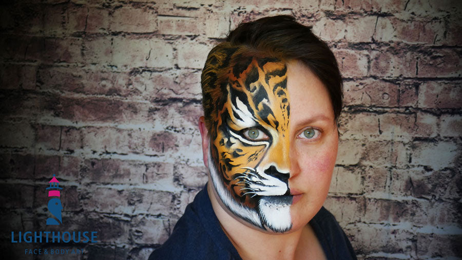 Caroline Weihrauch Lighthouse Face and Body Art