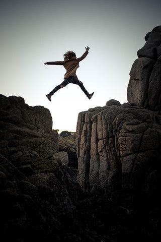 Jumping over mountain, level the playing field