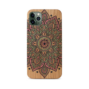 Dakota Mandala UV Colored Wood