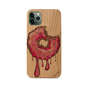 Dripping Donut UV Colored Wood