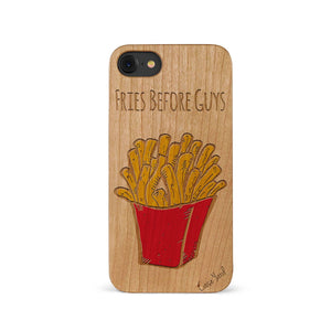 Fries Before Guys UV Colored Wood