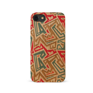 African Pattern UV Colored Wood