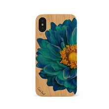 Load image into Gallery viewer, Blue Flower UV Colored Wood