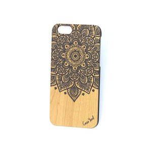 Navy Lara Mandala UV Colored Wood