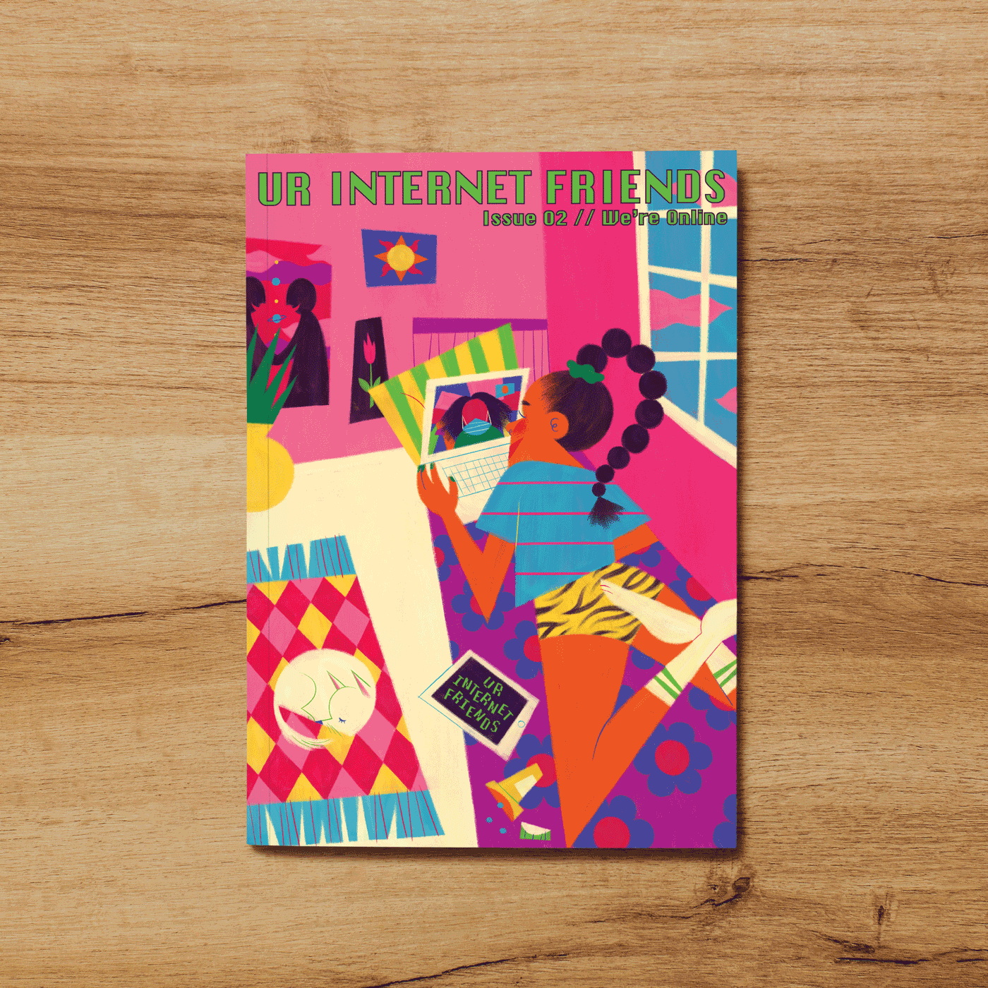Zine Issue #002: We're Online
