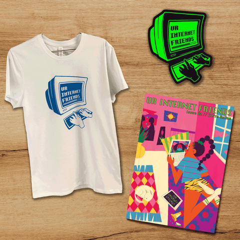 Issue #002, T-Shirt & Sticker Bundle