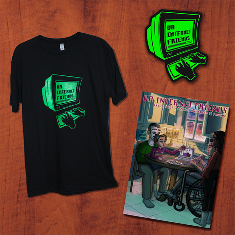 Issue #003, T-Shirt & Sticker Bundle