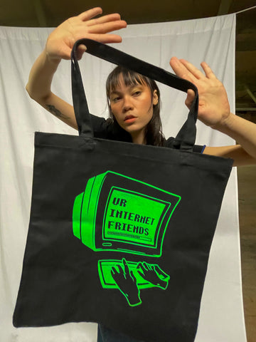 Ur Internet Friends Logo Tote