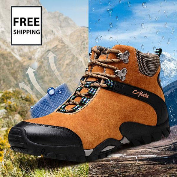 Top Quality Two Style Autumn And Winter Men Ankle Boots
