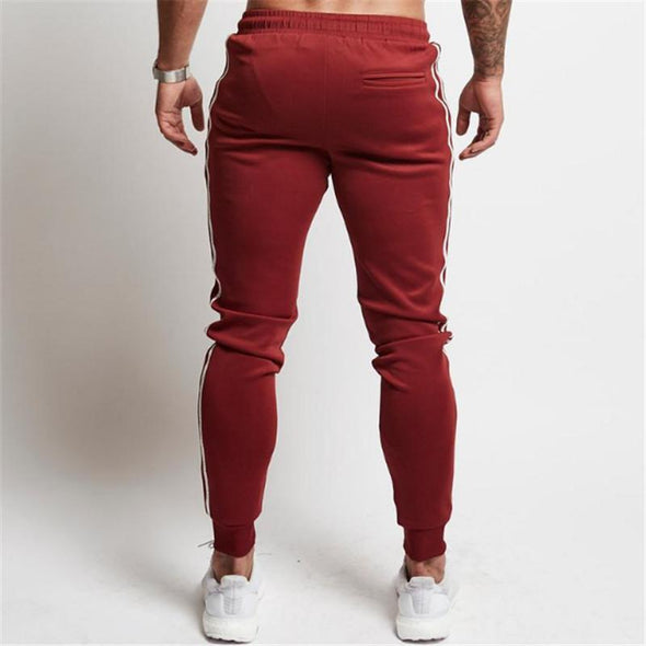Cotton Male Bodybuilding Fitness Men's Jogger Sweatpants