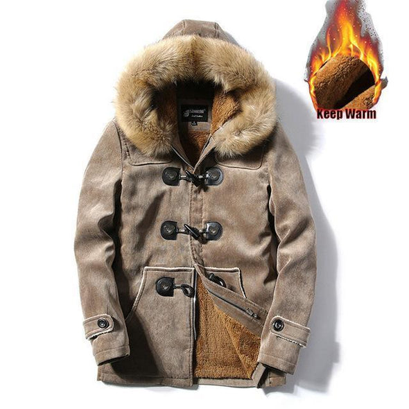 Fashion Winter Thick Down Cotton Jacket Coats