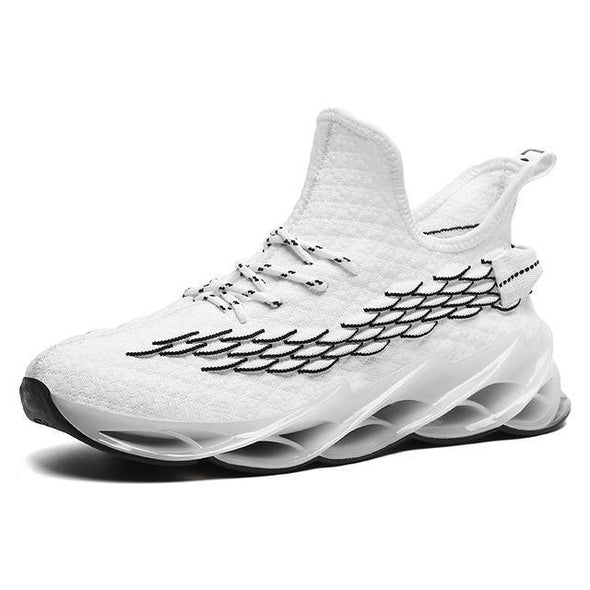 Lace-up Athietic Breathable Blade Sneakers