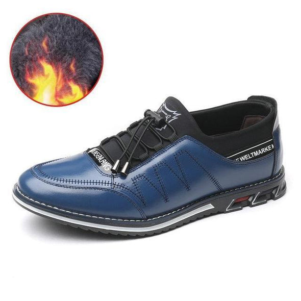 Trendy Men's Genuine Leather Loafers