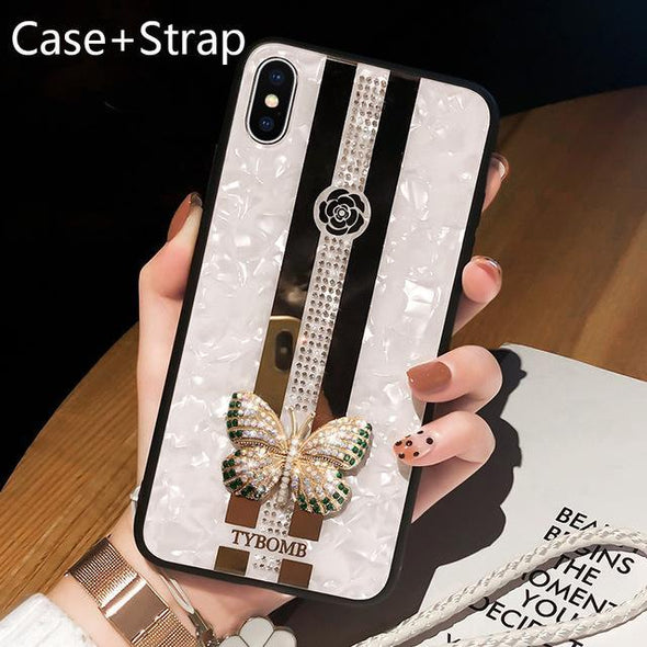 Butterfly Phone Case For iPhone X XR XS MAX 11 Pro Max