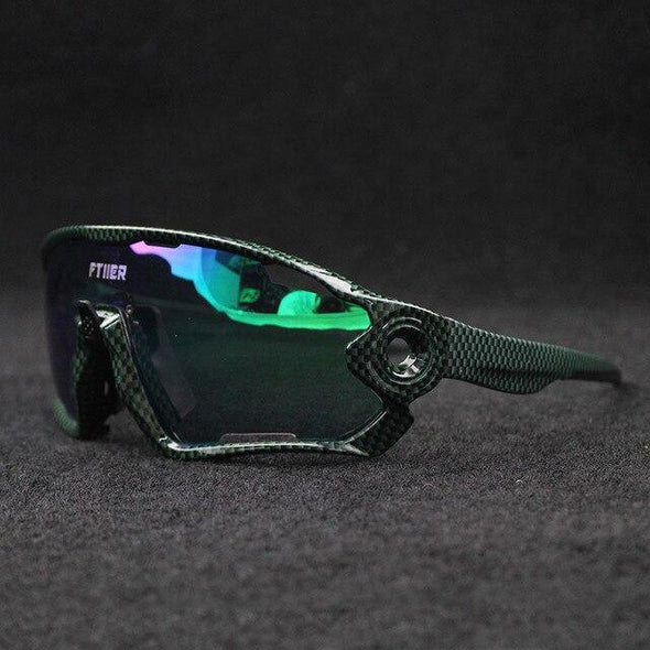 5 Lenses Ultralight Bike Glasses Cycling MTB Eyewear