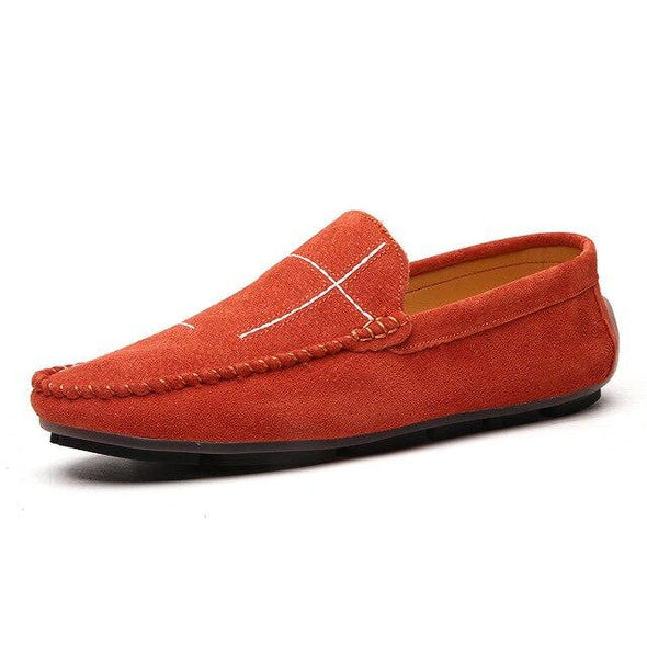 Men Genuine Leather Loafers Comfortable Moccasins