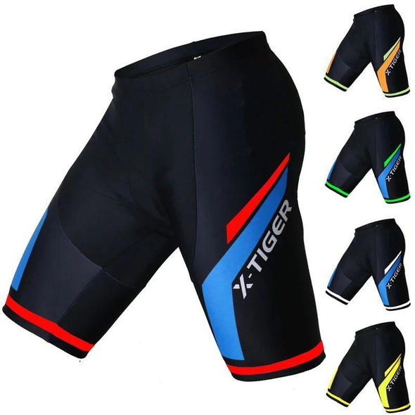 Coolmax 5D Padded Shockproof MTB Road Cycling Shorts