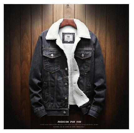 Winter Wool Liner Denim Jackets