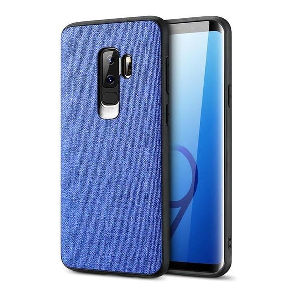 Luxury Cloth Texture Soft Silicone Phone Case For Samsung