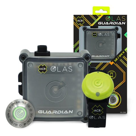 OLAS GUARDIAN Wireless Engine Kill Switch & Man Overboard (MOB) Alarm System