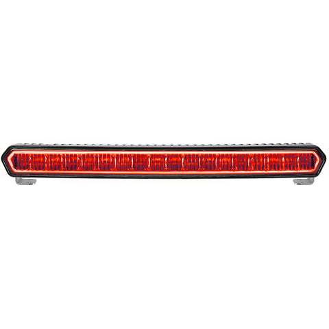 "RIGID INDUSTRIES SR-L SERIES MARINE 20"" BLACK LED LIGHTBAR - WHITE LIGHT W/RED HALO"
