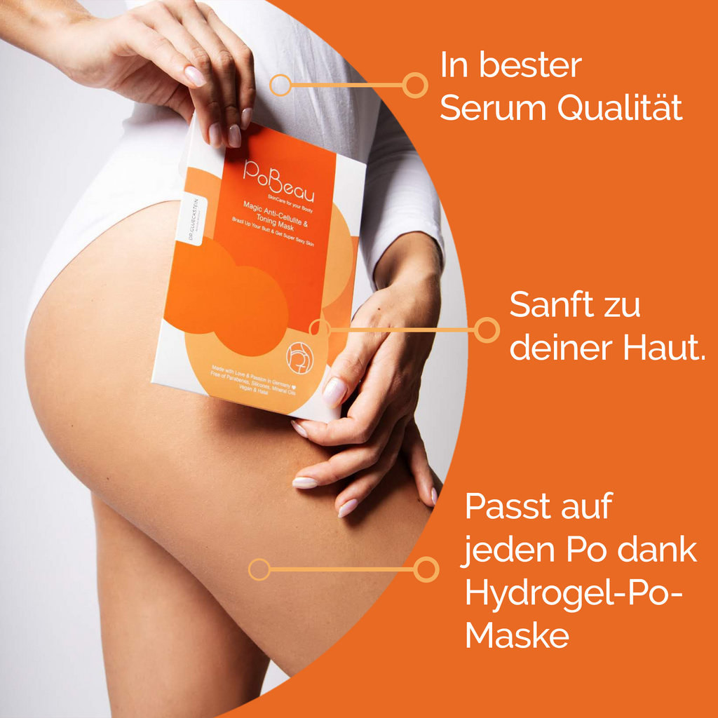 PoBeau Anti Cellulite & Toning Mask