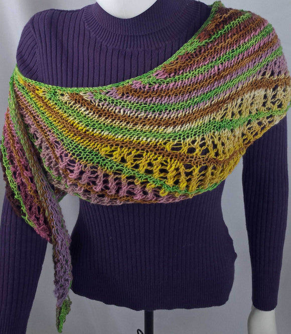 B202 Bamboo knitted scarf, SALE 20% off