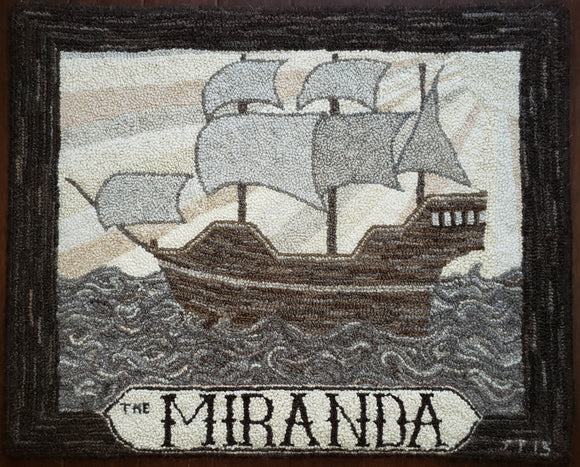 Miranda Pattern on linen, 23