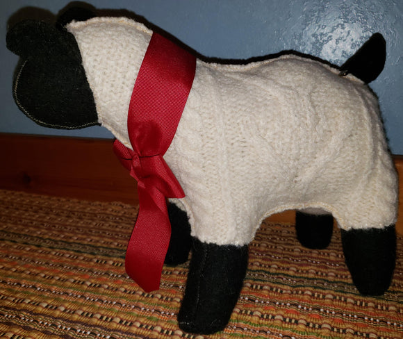 E108 Sweaterfelt Sheep, SALE 20% off