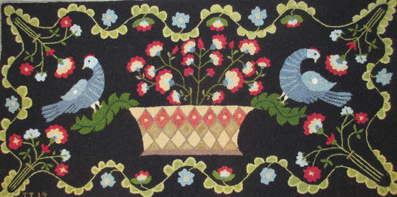 Birds of a Feather Rug, 24