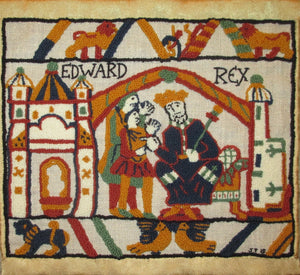 "Bayeux Tapestry King Edward Kit, 20""x17"""