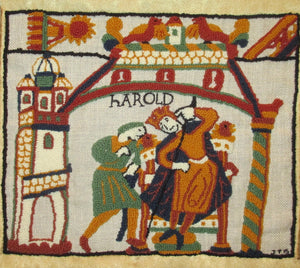 "Bayeux Tapestry King Harold Kit, 20""x17"""