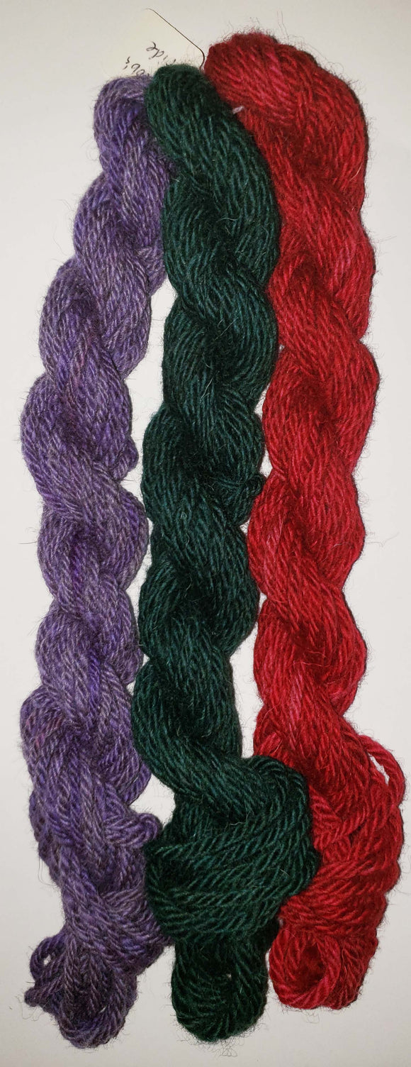 Yarn Sampler, Jacob's Pride