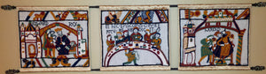 "Bayeux Tapestry Three Kings Kit, (3 pieces, 20""x17"" each)"
