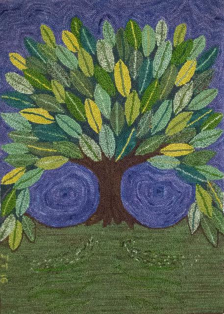 Tree of Life Pattern on linen, 22