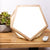 Sunrise Sensations DayBright light therapy lamp- pentagon wooden therapy lamp