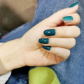 luxury-press-on-nails-green-round-nails