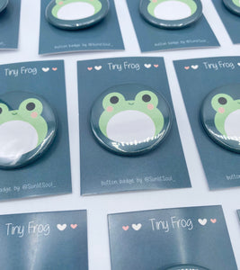 Tiny Frog Button Badge