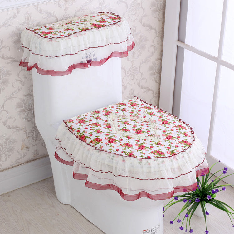 French Design, Flower Toilet 3-pcs/Set - Shipping within 24 hours