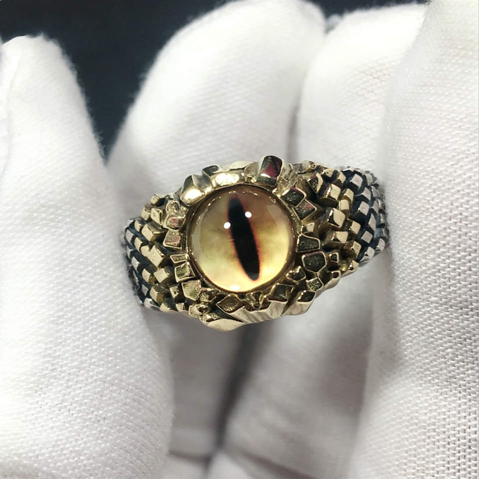 The Eye of Python Ring
