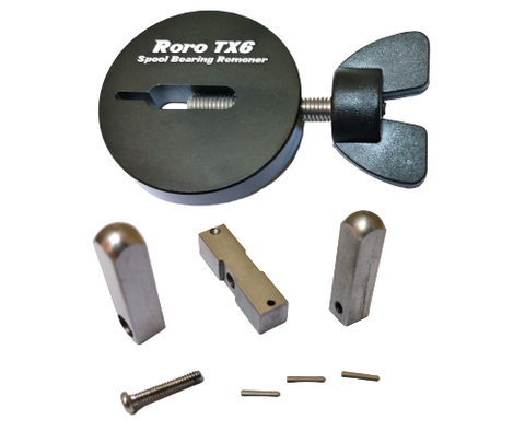 Roro Spool Bearing Remover TX6 Components
