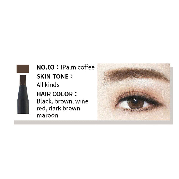 FLAT HEAD LINER EYEBROW PENCIL DARK