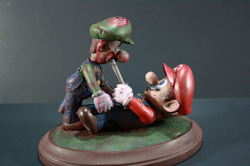 Kodykoala's Custom Mario and Zombie Luigi