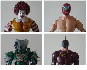Kodykoala's Lot of Custom Figures